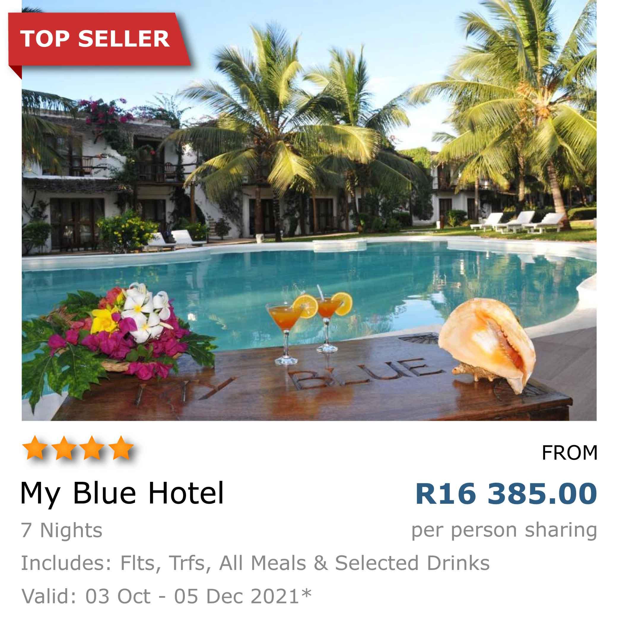 My Blue Hotel